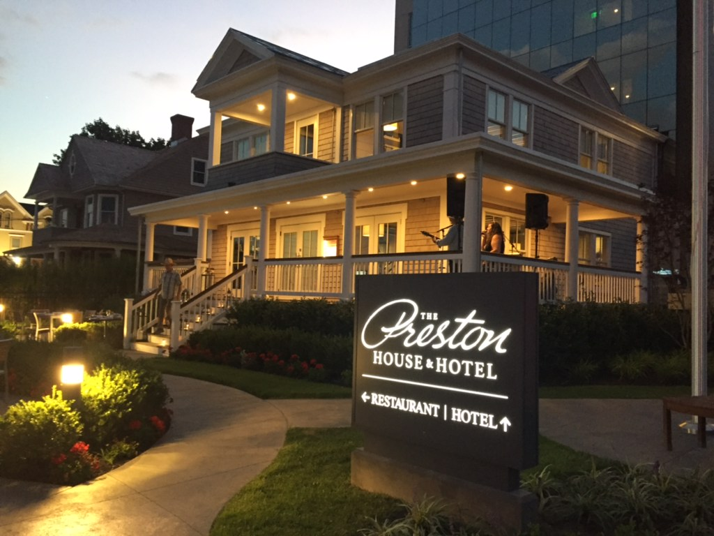 Exterior Shot of The Preston House & Hotel