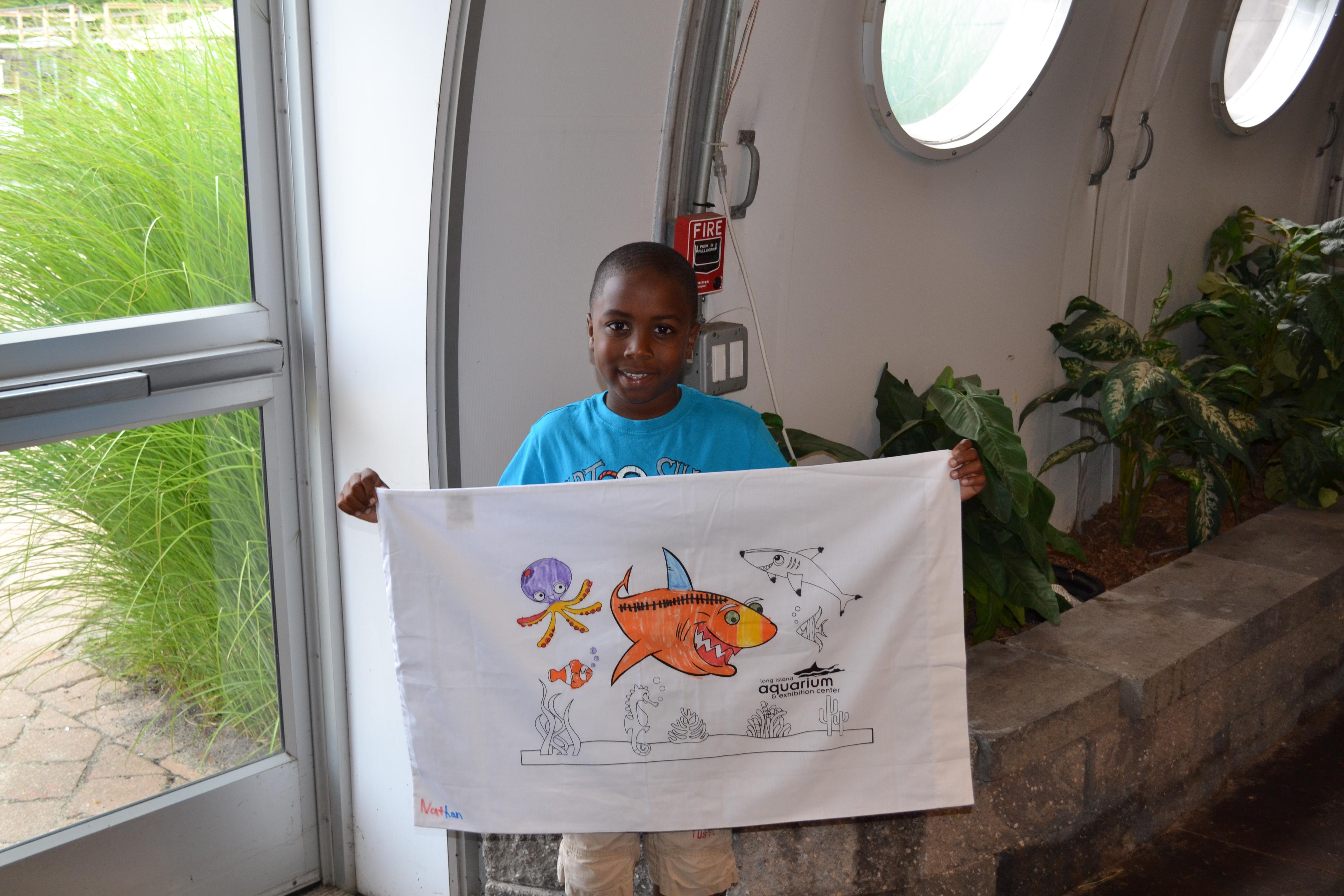 Boy with Pillowcase Craft