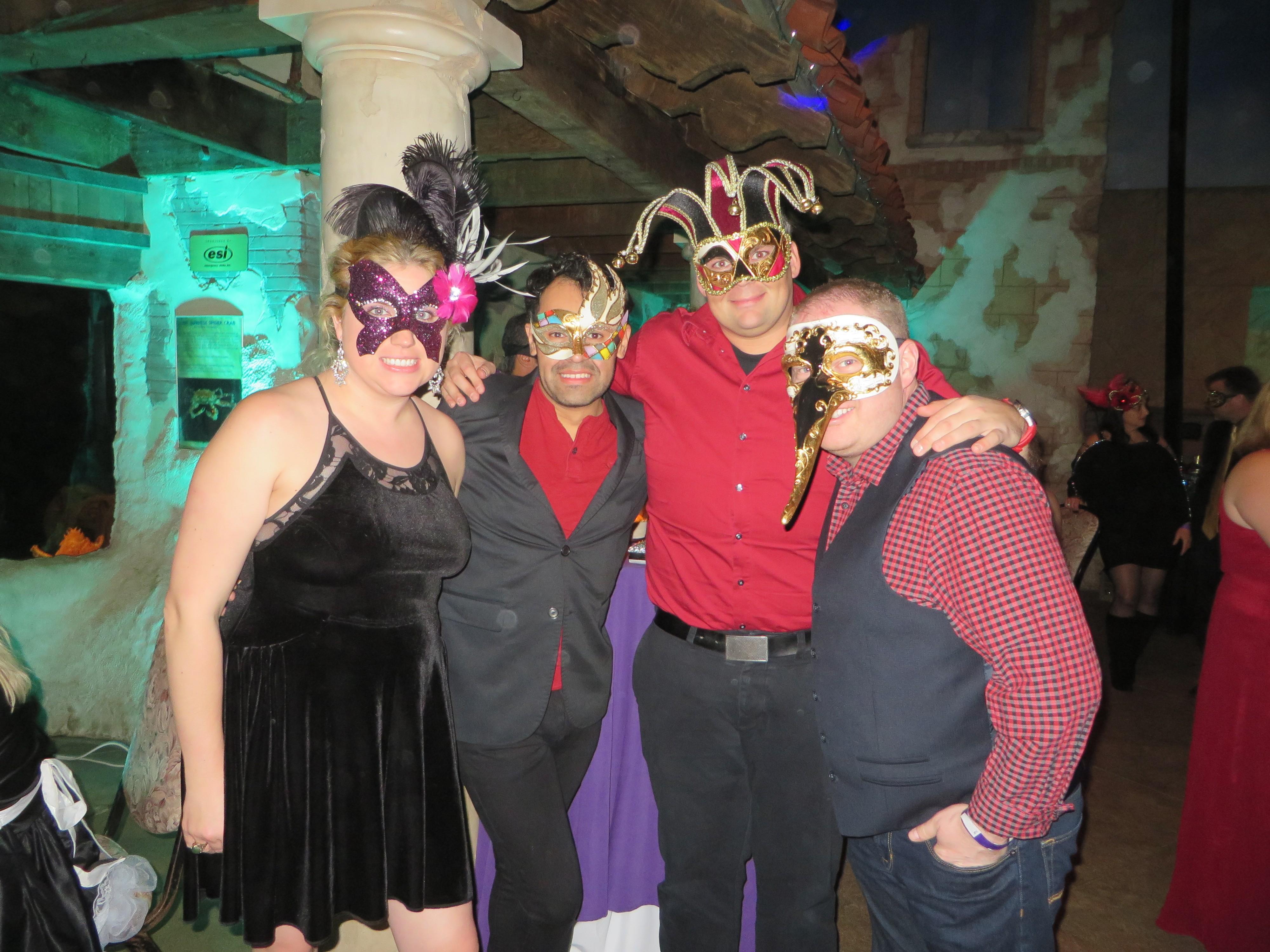 Masquerade Ball at Long Island Aquarium